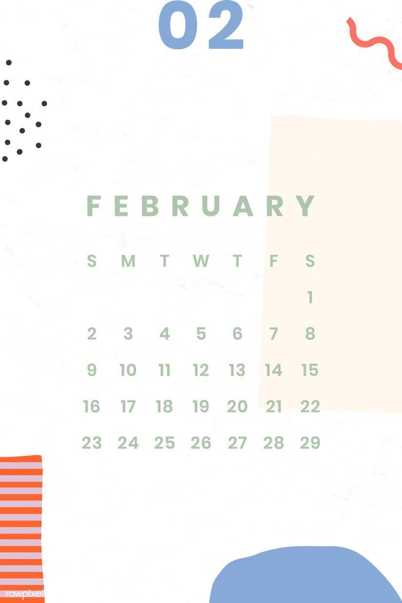 30 Free February 2020 Calendars For Home Or Office Onedesblog V