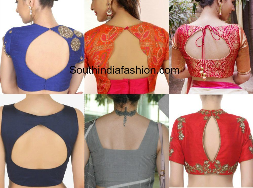 100 Blouse Designs Best Stunning Latest Saree Blouse Neck Designs Blouse Neck Designs Blouse Design Images Blouse Back Neck Designs