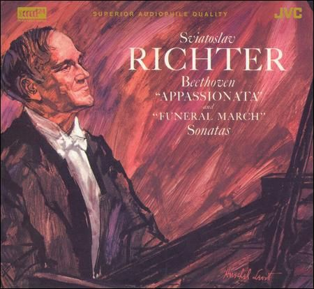 Sviatoslav Richter - Beethoven Sontas, Appassionata and Funeral March