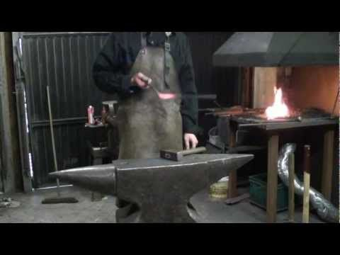 Forge welding tutorial.