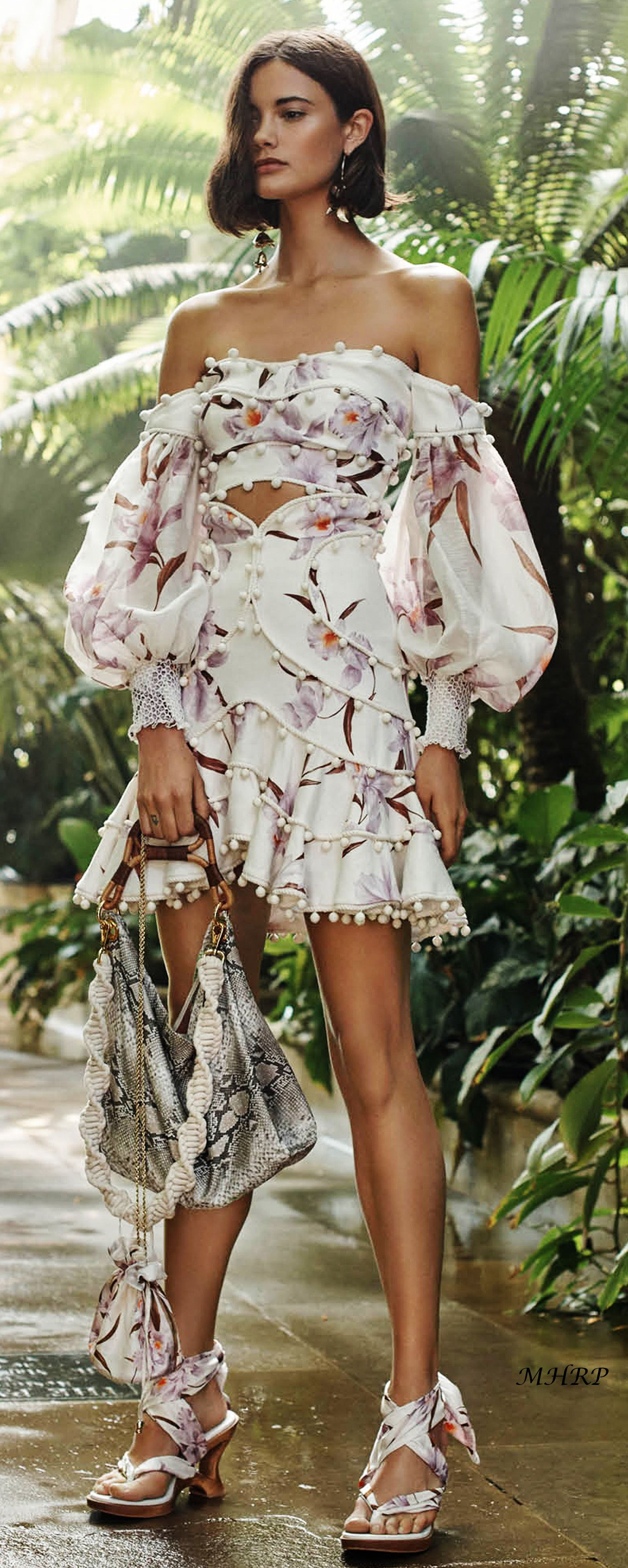 7a8f7f01ef21c zimmermann-vogue-resort-2019 | couture | Fashion, Floral mini skirt ...