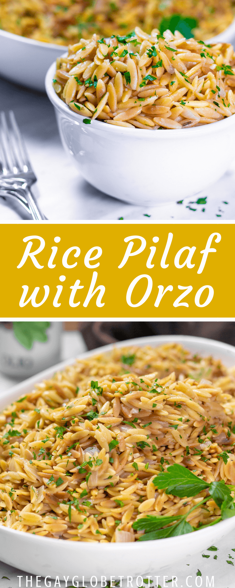 Rice Pilaf with Orzo