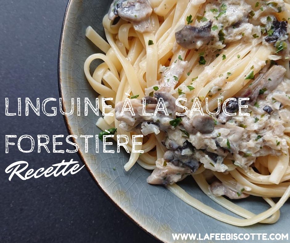 Linguine à la sauce forestière | Recette végétarienne ...