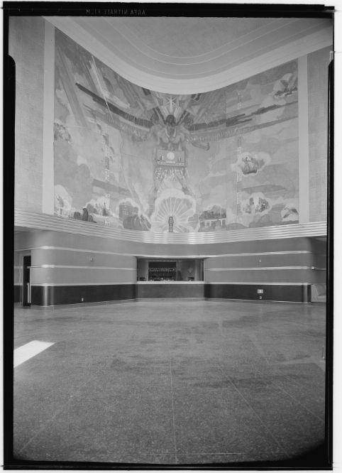NBC Studios Hollywood 1939 Interior By Maynard Parker Courtesy Of Huntington Library Now Demolished