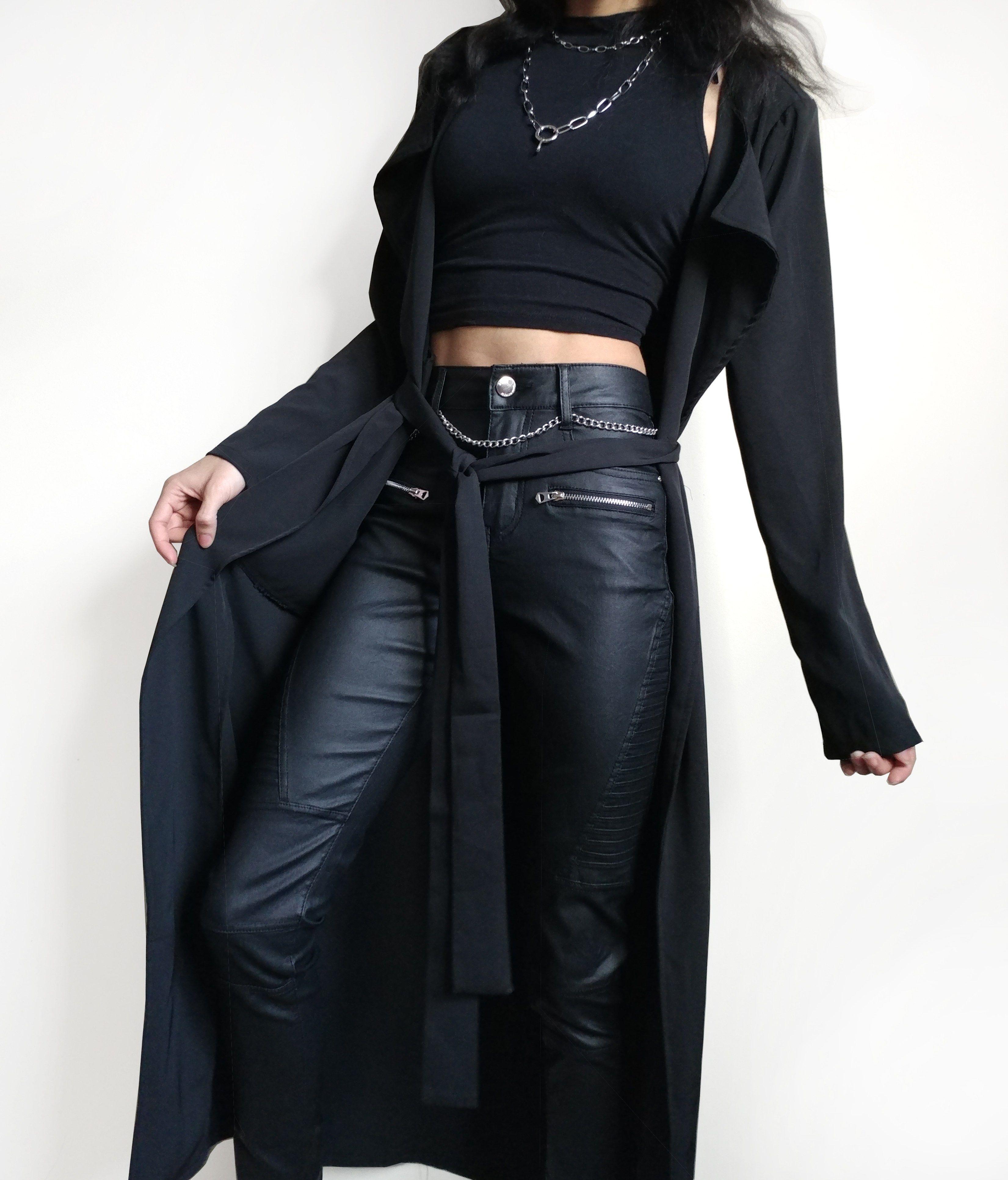 "18/"" Black Strict Leather Split Riding Crop Whip Costume"