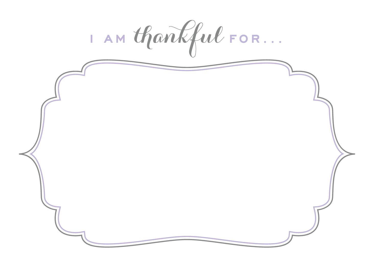 photo regarding I Am Thankful for Printable named I am grateful for Thanksgiving Thanksgiving initiatives