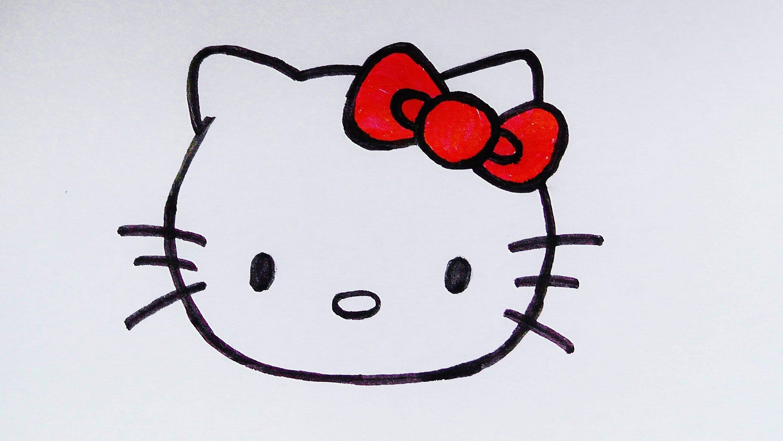 hello kitty zeichnen  my blog