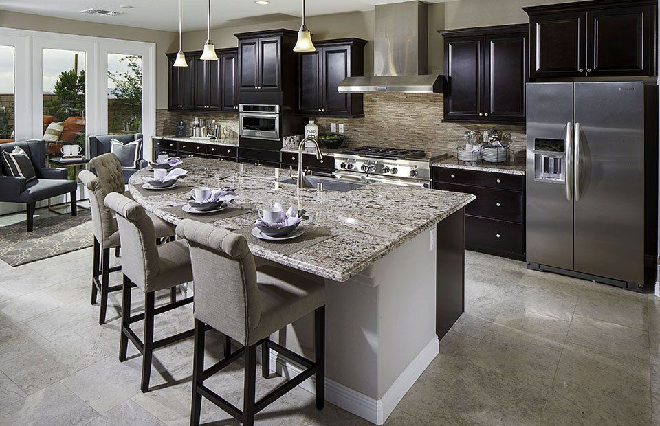 Elegant Kitchen Design · Residence 3 New Home Features | Las Vegas, NV | Pulte Homes  New Home Builders