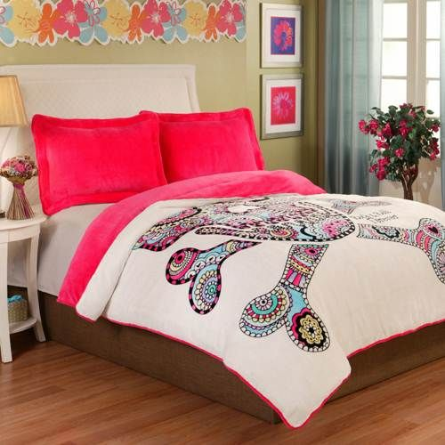 Fraiche Maison Punk Love - Mexican Sugar Skull Bedding By Fraiche Maison Bedding,
