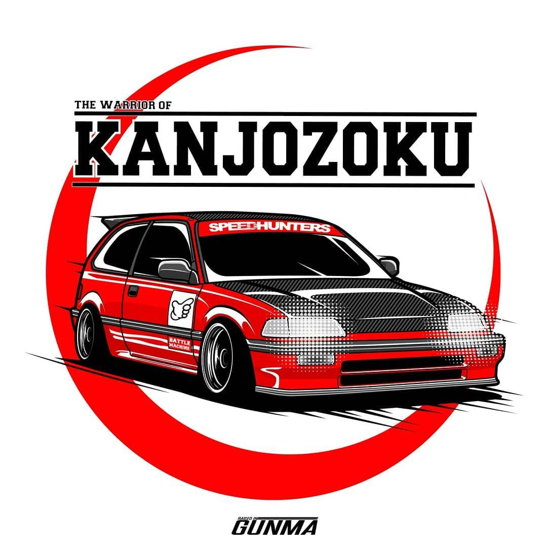 Civic Ef Now Available For Purchase As T Shirt Sticker Poster Etc In My Redbubble Store Link In My Bio You Can Ord Mobil Modifikasi Mobil Konsep Mobil