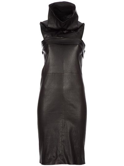 Vintage Balenciaga   black nappa leather