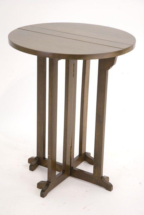 Table D Appoint Table De Repas Pliable Hévéa D60x75cm
