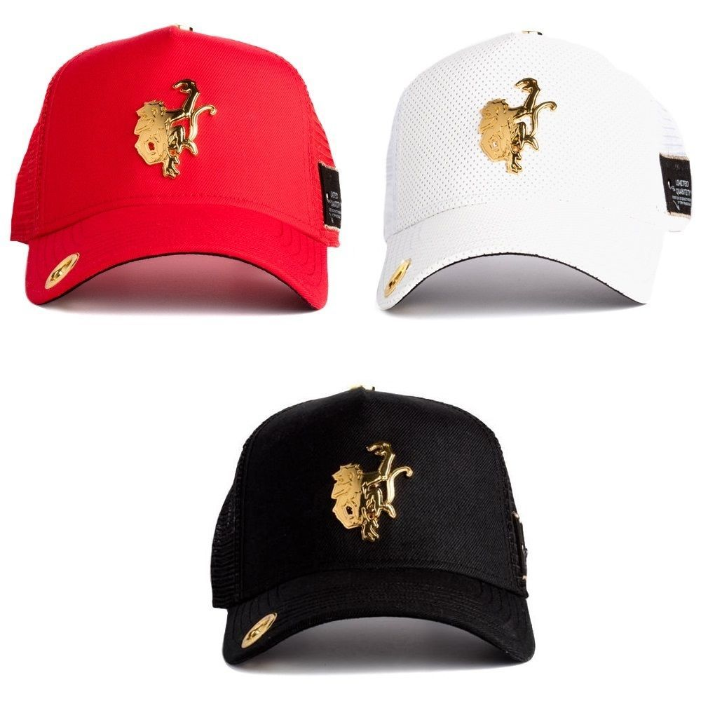 quality design a0ff5 ba97d Hats 52365  New Red Monkey Mens Gold Monkey Trucker Hat - One Size -  BUY  IT NOW ONLY   49.99 on eBay!
