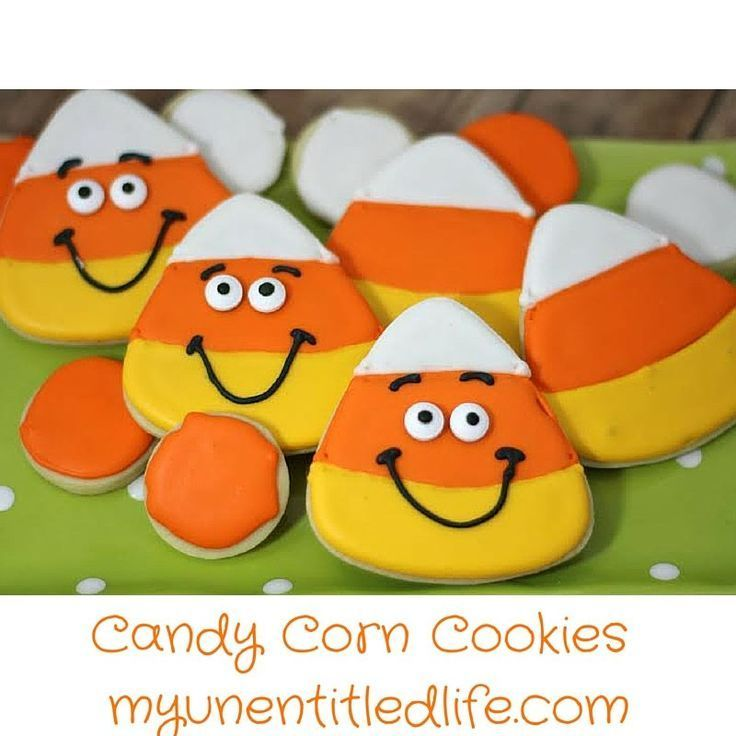 Candy corn cookies recipe #candycorncookies