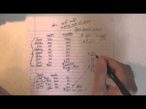 How to Get Out of Debt Using the Envelope System - This video does - zero based budget spreadsheet dave ramsey