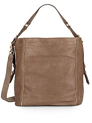 4b8e5f1df0 Elenor Lux Leather Convertible Top-Handle Bag