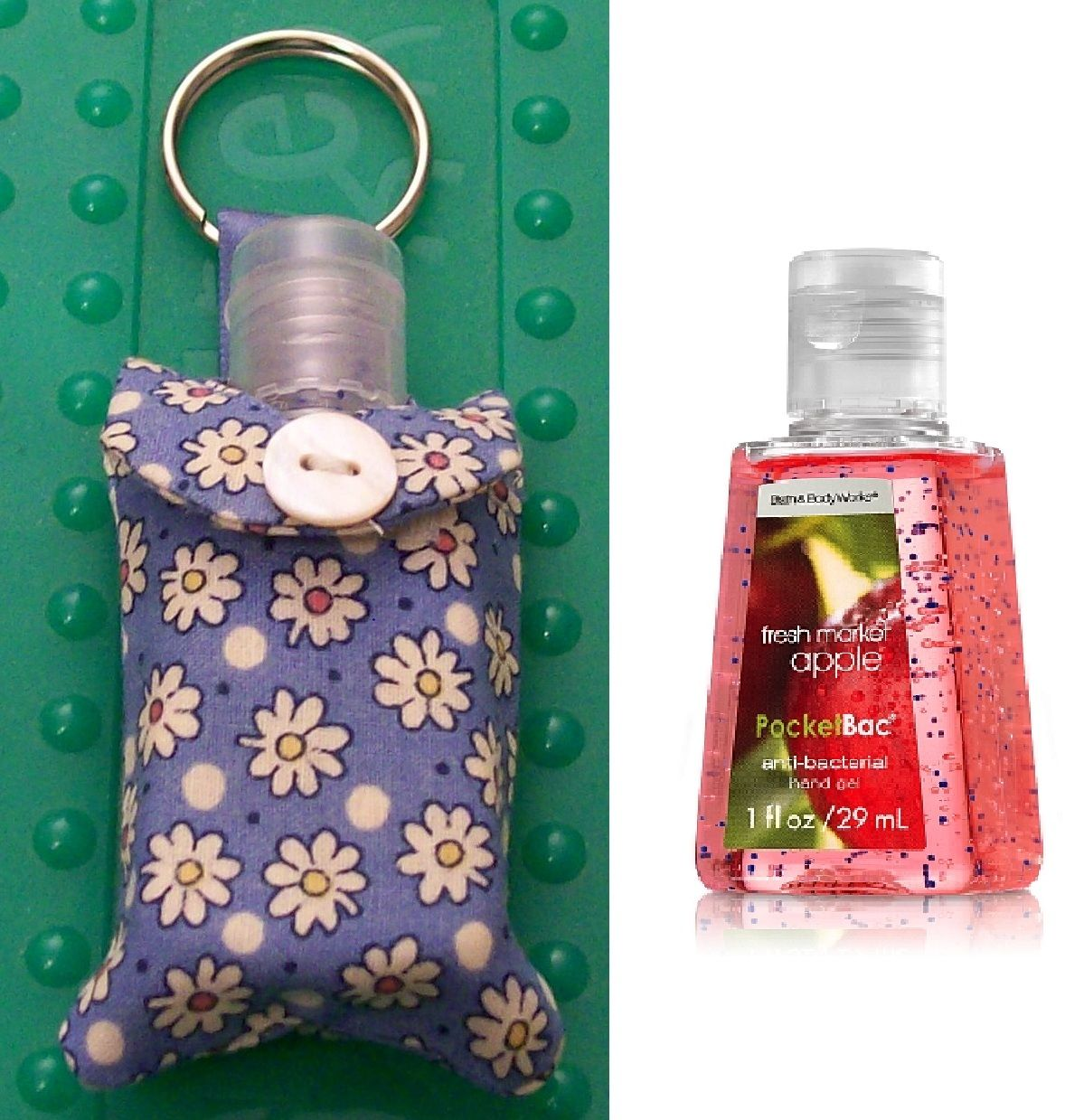 Hand Sanitizer Keychain Holder The Original By Rhyahpapaya Hand