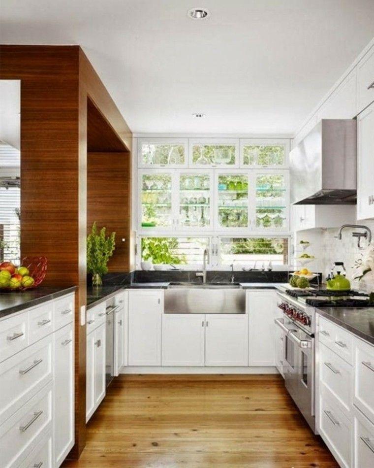 cocina de diseño en forma de U | Cocinas | Pinterest
