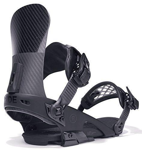 Ride Mens El Hefe Snowboard Bindings Black XLarge * Visit