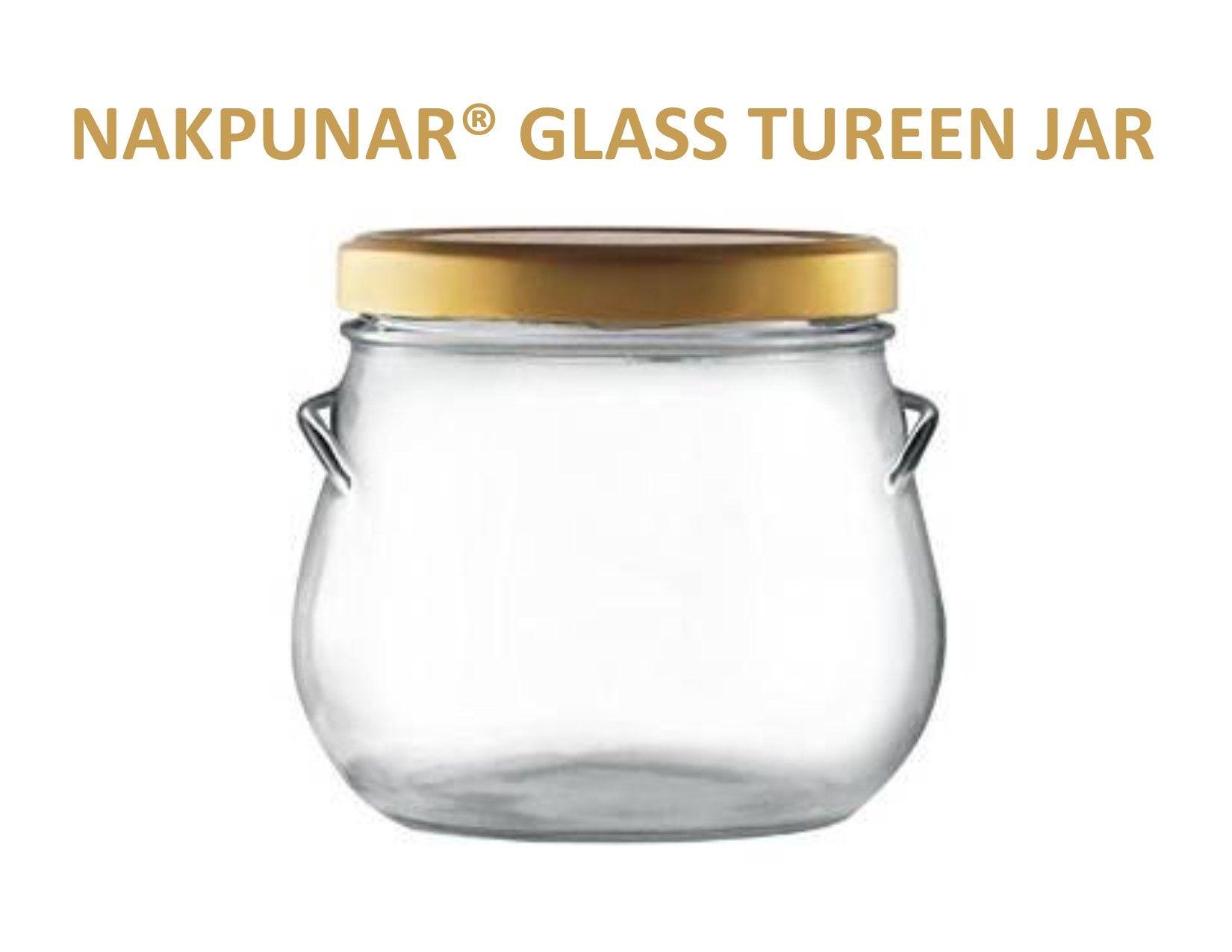 3bde9ff5f1cb Glass Tureen Jar - 29 Oz (850 ml) Nakpunar® Brand Glass Tureen Jars ...