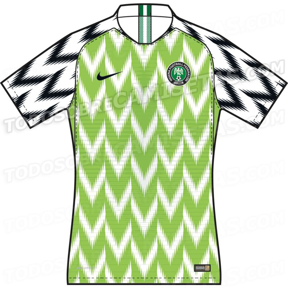 a596c4eac Nigeria 2018 World Cup Kits LEAKED | Soccer • International