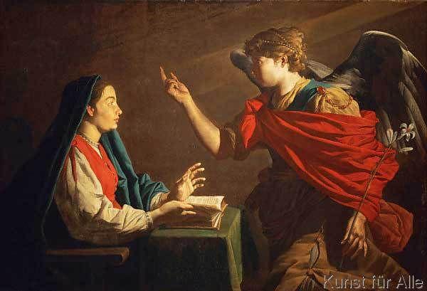 Matthias Stomer - Die Verkündigung an Maria (71,0 x 48,0 cm) in 2018 ...
