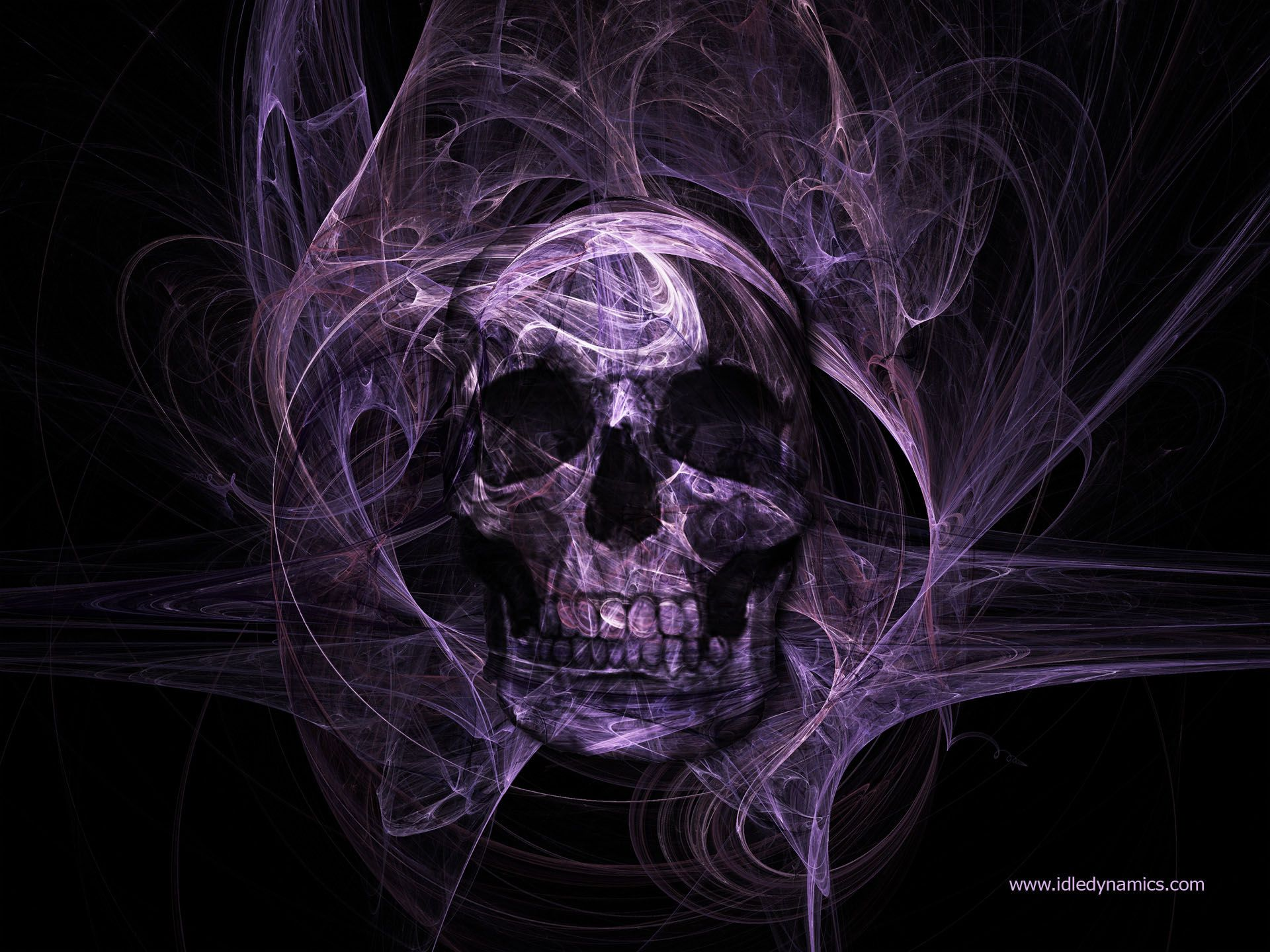 Cool Skull | Dark - Skull - Purple Skull - Dark - Colour ...