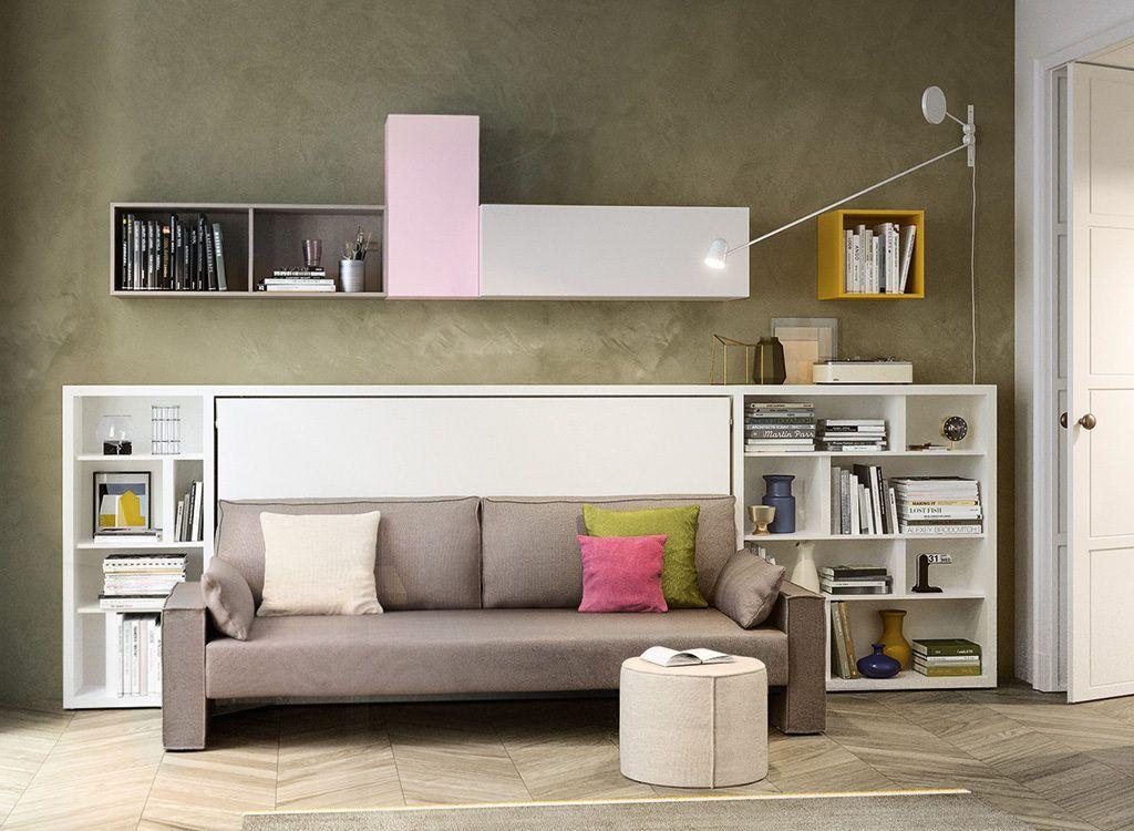 Kali Sofa Single Wall Bed & Sofa Murphy bed diy, Murphy