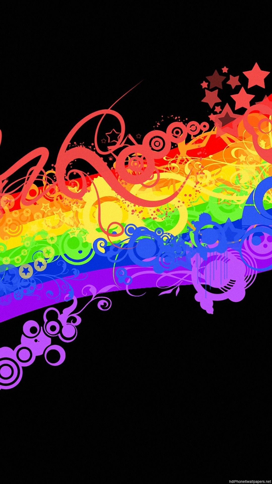 Colorful Rainbow Image (With images) Owl wallpaper