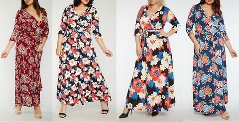a19e5597edcfb Plus Size Floral Maxi Dresses - A Travel Staple