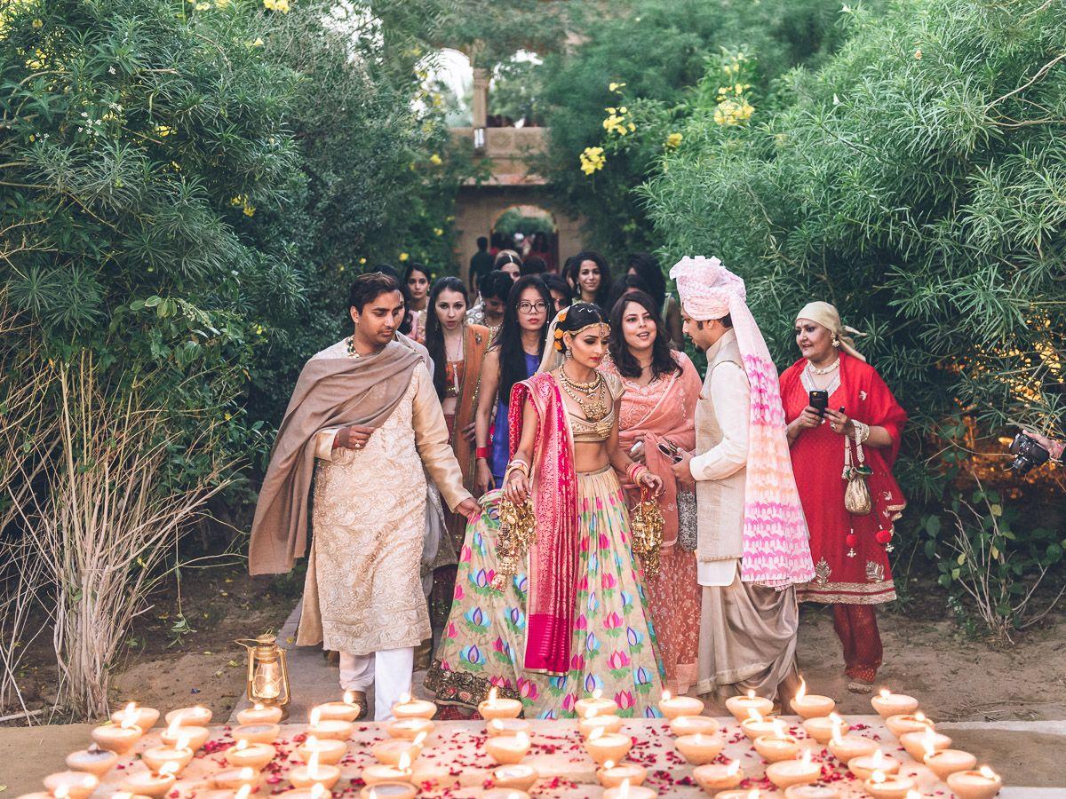 Karishma Jhalani And Ashwin Jain S 3 Day Wedding In Jaisalmer India