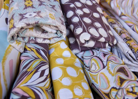 Sardinia fabric collection // Jessica Swift for Blend