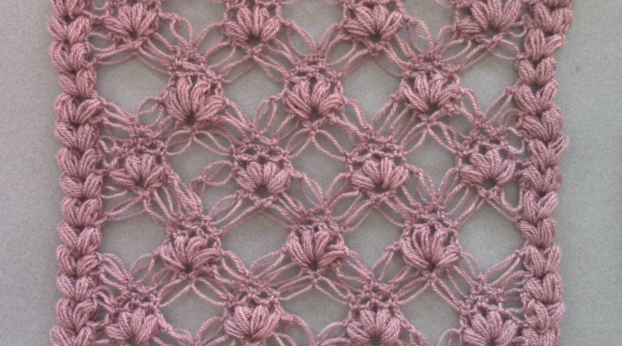 Crochet Punto Esponjoso y Salomon Recto - DIY Stitch Video Tutorial For Beginners