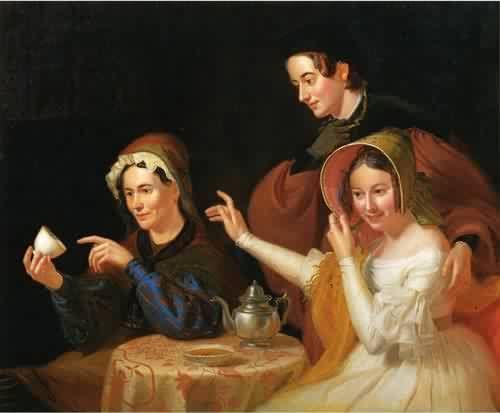 Fortune-teller 1838, New York Historical Society * Cartomancy