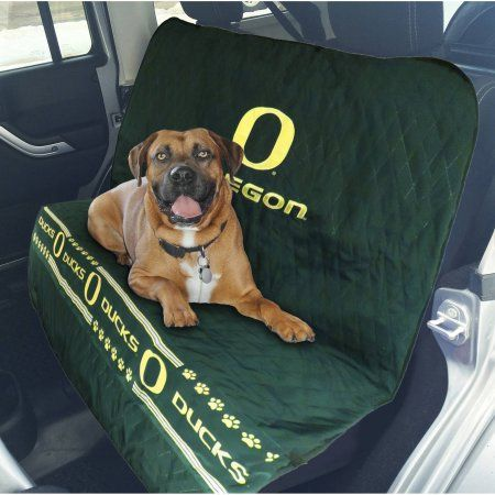Pets First College Oregon Ducks Car Seat Cover
