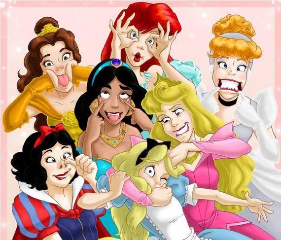 Cinderella S Face Reminds Me Of What Junie B Jones Would Look Like Goofy Disney Disney Princess Funny Happy Birthday Princess