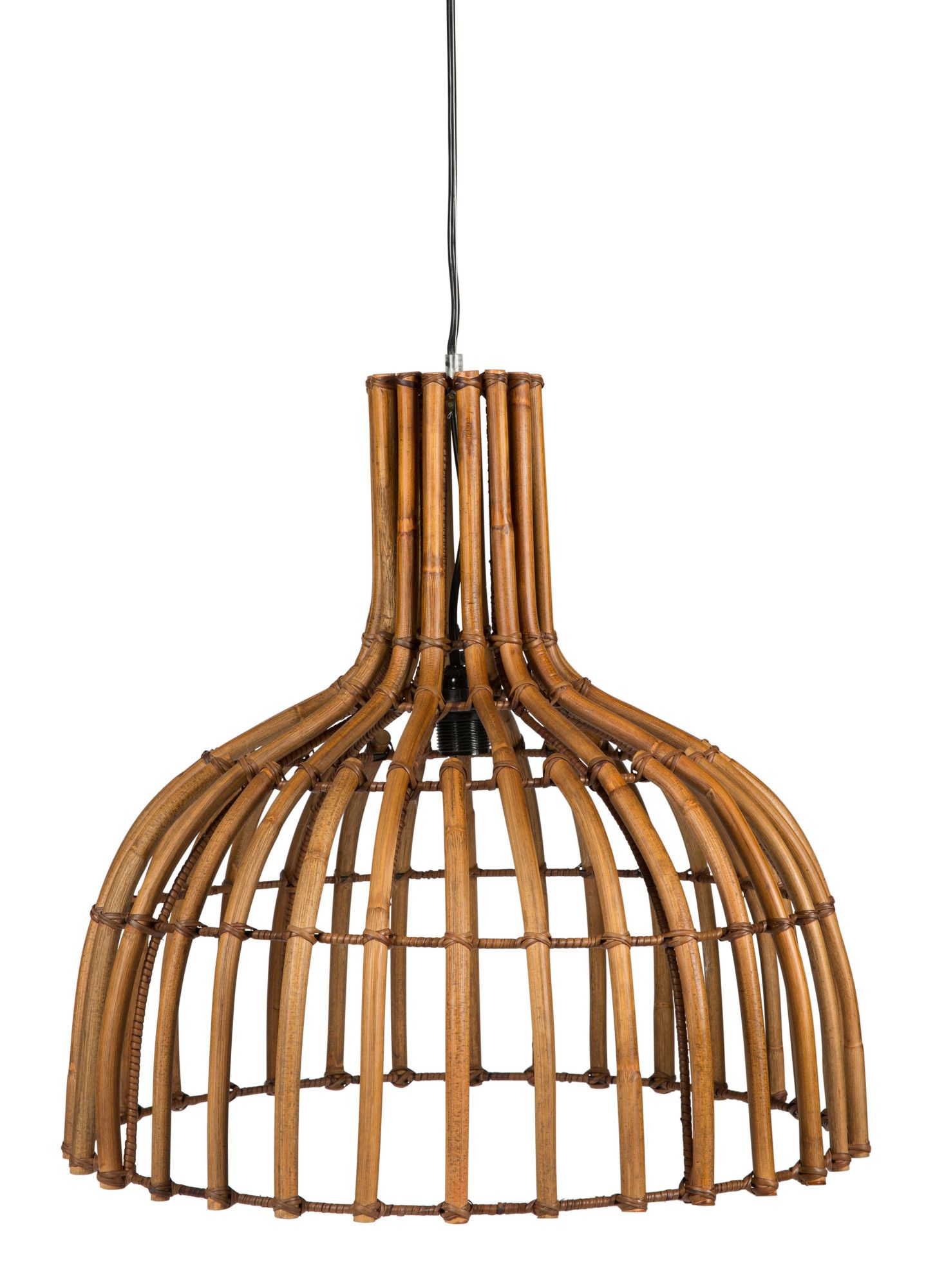 KITCHEN (IN BLACK) Plug Hanging Rattan Lamp By Lifestyle Traders. Get It Now