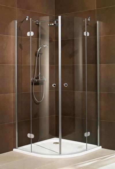 Schulte M8 Runddusche 8 mm 4teilig Dusche, Duschkabine