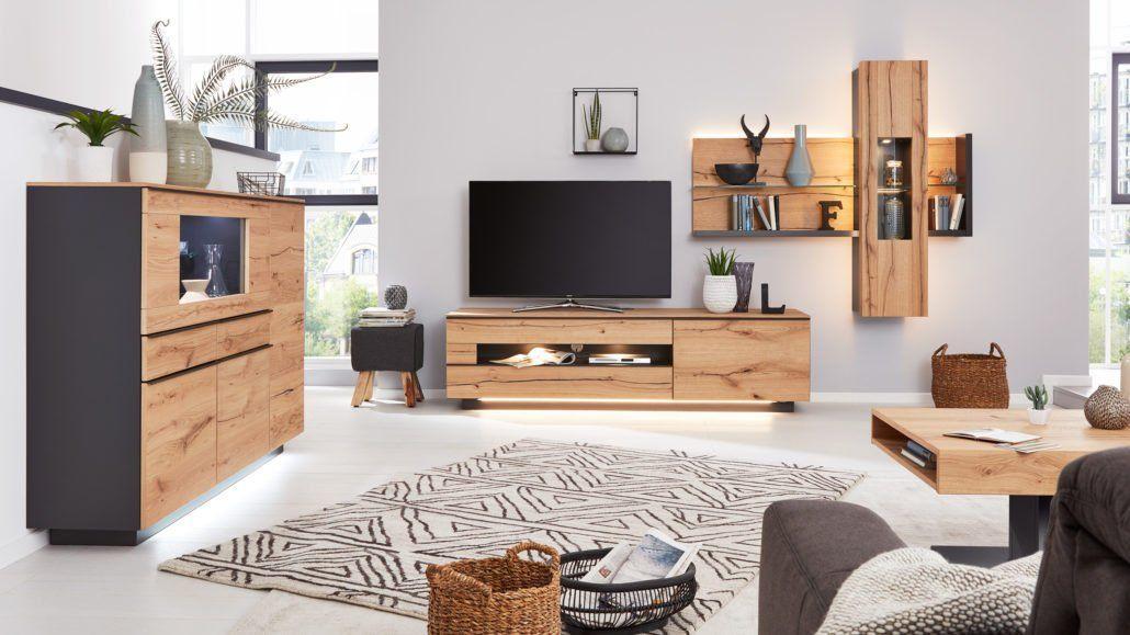 Der Interliving Teppich-C-8100-ist in der Wohnzimmer Serie 2103 ein