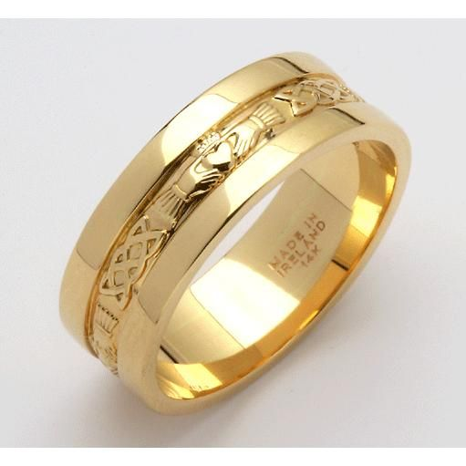 Male Engagement Rings Gold Bands 44 Pinterest
