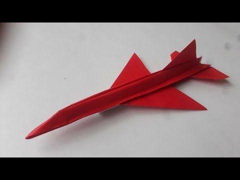 Como Hacer Un Avion De Papel Que Vuela Mucho Muy Rapido Jas 39 Orig Youtube Como Hacer Un Avion Aviones De Papel Artesanías De Papel Reciclado