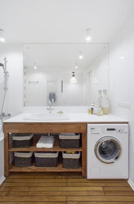 Alternative Places for your Washer, Creative Ideas for Small Spaces