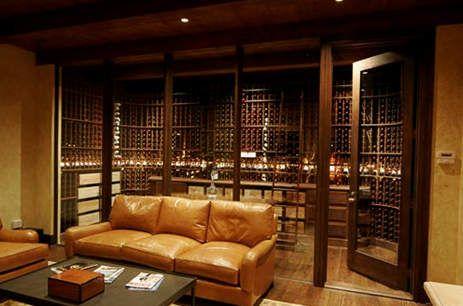 Beautiful House · Basement Wine Cellar
