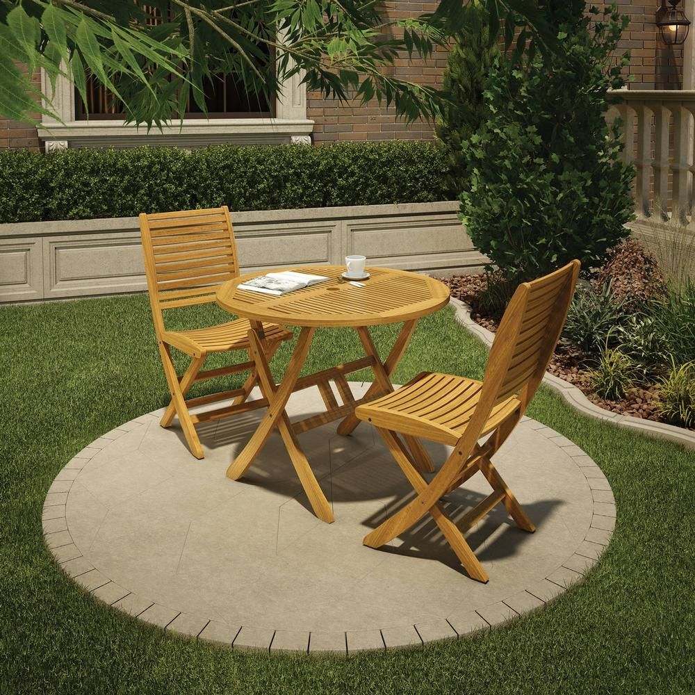 Eucalyptus Wood Bistro Set Funny In 2019 Patio Chairs 400 x 300