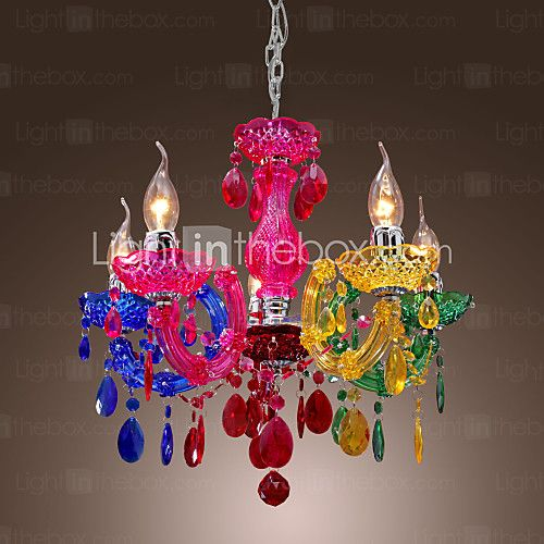 Chandelier , traditional/classic chrome feature for crystal ...