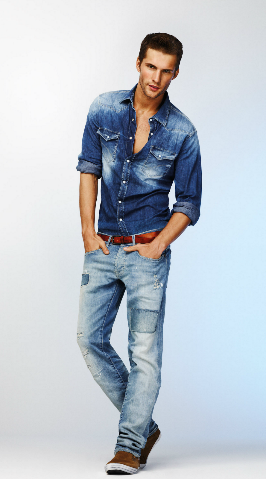 Tomas Skoloudik for Gas Jeans S/S 2012 lookbook