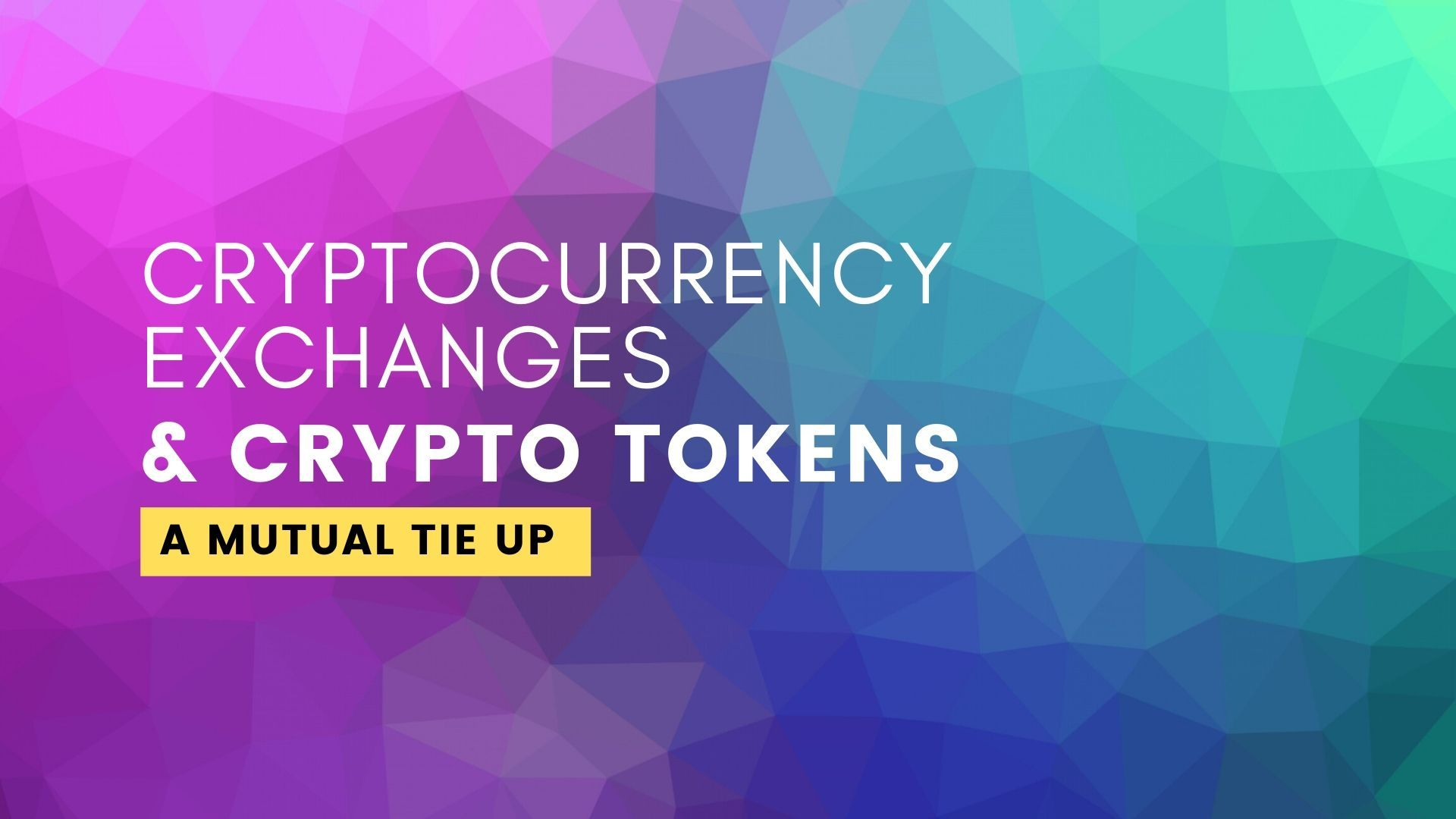 cryptocurrency exchange tokens