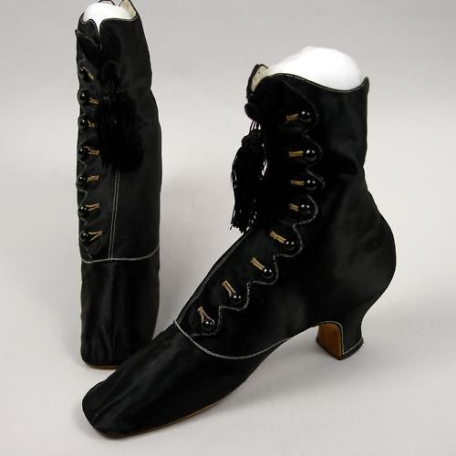Boots by PH Herher - Paris, ca 1859-63 France, Oakland Museum of California