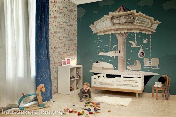 Ideen Für Coole Wand Und Deckengestaltung Im Kinderzimmer Haus ...