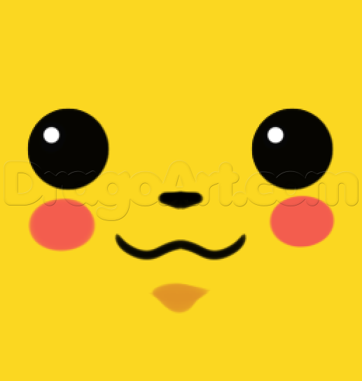 How To Draw Pikachu For Kids Pikachu Face Painting Face Painting Easy Pikachu Drawing
